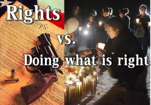 Rights vs Doing what is right