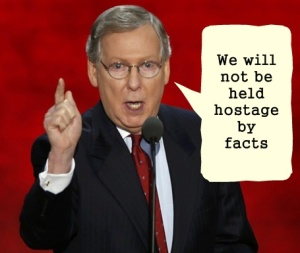 Mitch McConnell Hostage to Facts
