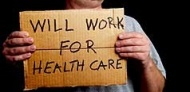 Will work for health care
