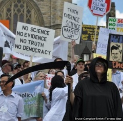 Canada Muzzling Science Protest